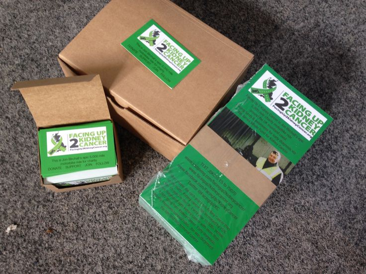 Brilliant presentation and packaging all from www.instantprint.co.uk  Thank you so much. Together we are #facingup2KC