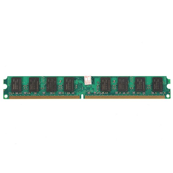 2GB DDR2 800 MHZ PC2-6400 in Memory Compatible with 2GB DDR2 800 Memeoy Ram Desktop Computer for AMD Backed by superior design and rigorous testing, this product is engineered for long life and continuing value. Capacity: 2GB Pins: 240-Pin Voltage: 1.8V Form Factor: DIMM Speed: PC6400 800MHz Buffering/ECC: Non-ECC, unbuffered Compatible with most major brands ...