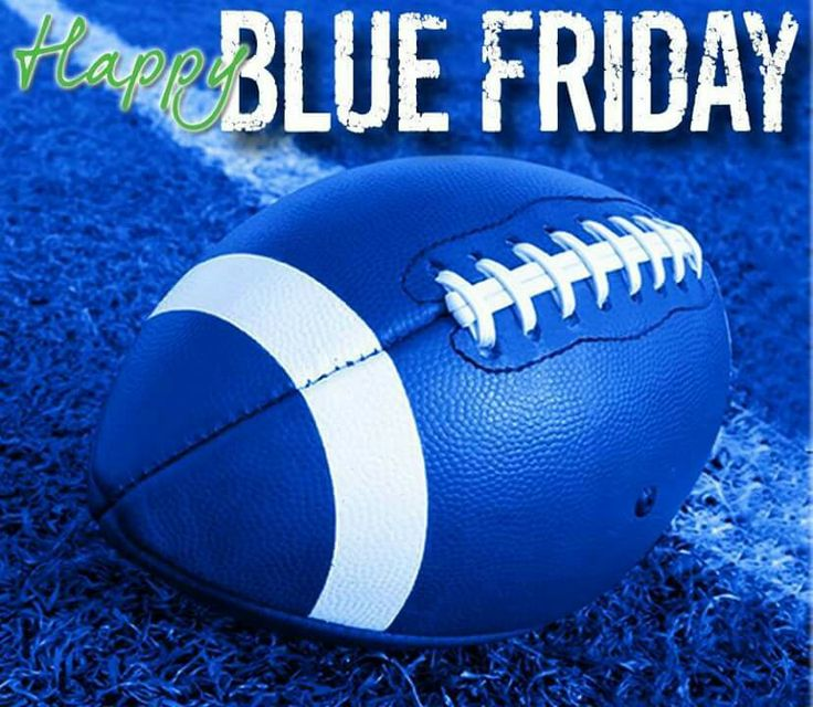 True blue Friday