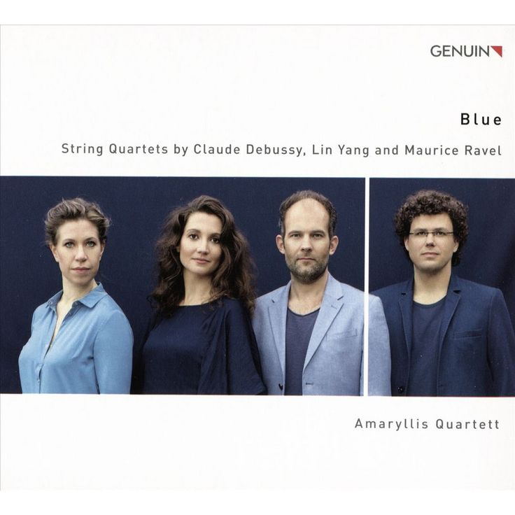 Amaryllis Quartett - Blue: String Quartets by Claude Debussy, Lin Yang and Maurice Ravel (CD)