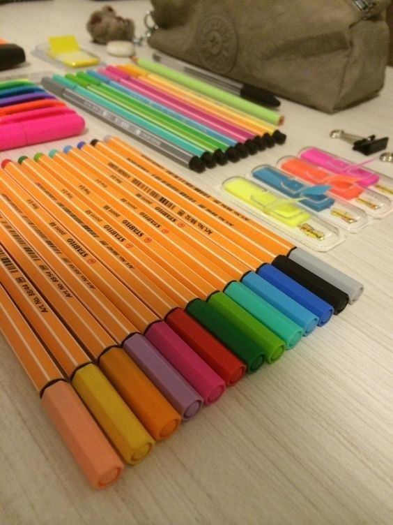 Who could imagine that going to the office supply store could be so exciting?