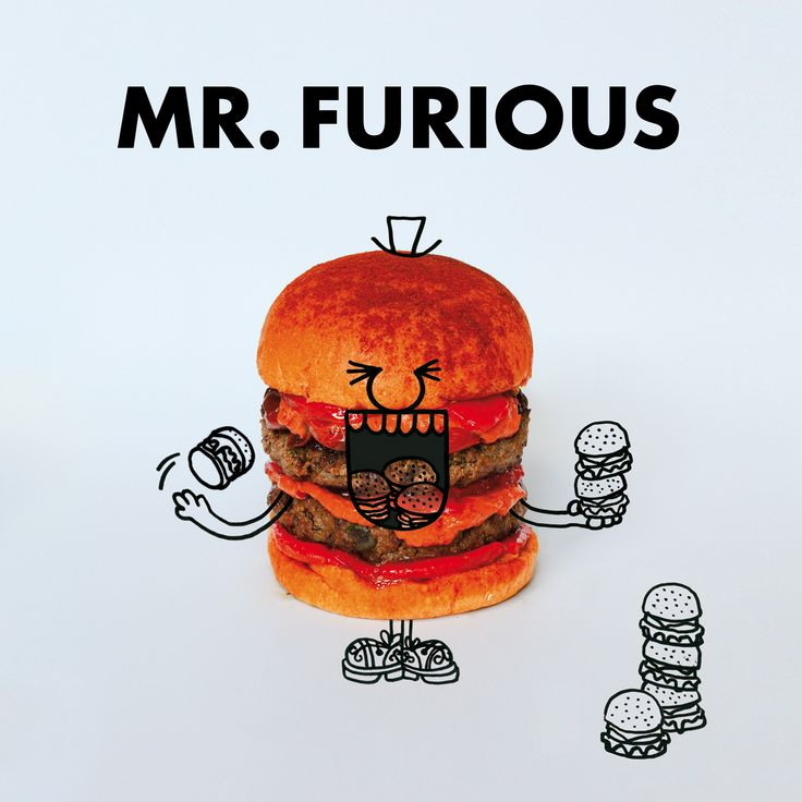 Mr. Furious Burger. fatandfuriousburger