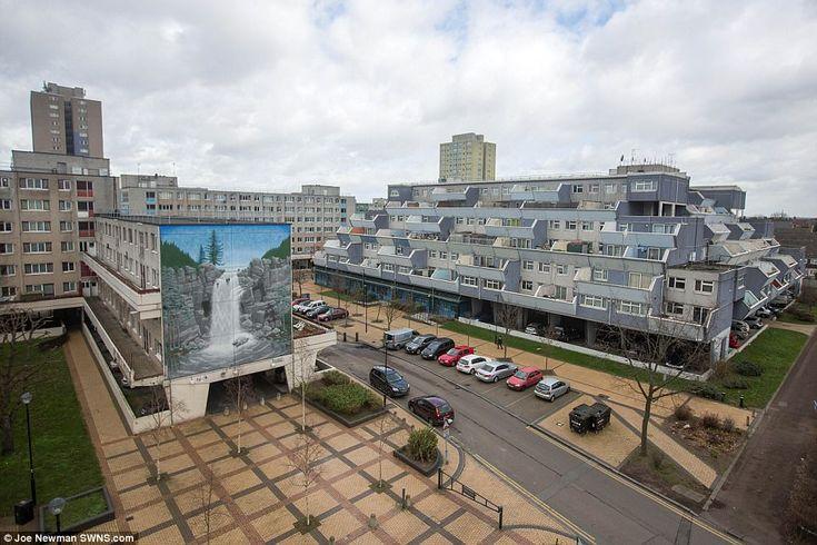 London's other skyline: Photographer captures brutalist tower blocks #dailymail