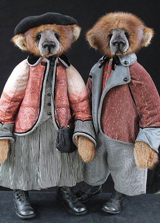 lori simon bears her bears are beautiful, but we try to avoid pinning real fur, that is or was used for fashion, not for survival.