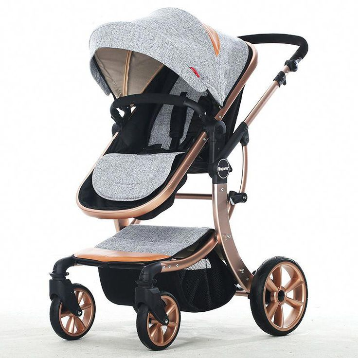 AIMILE Baby Stroller 3 in 1 Brands High Landscape Baby