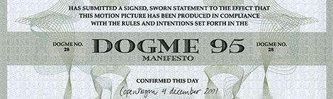 Dogma 95 manifesto