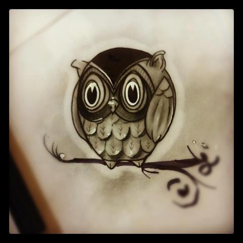 I like this owl.