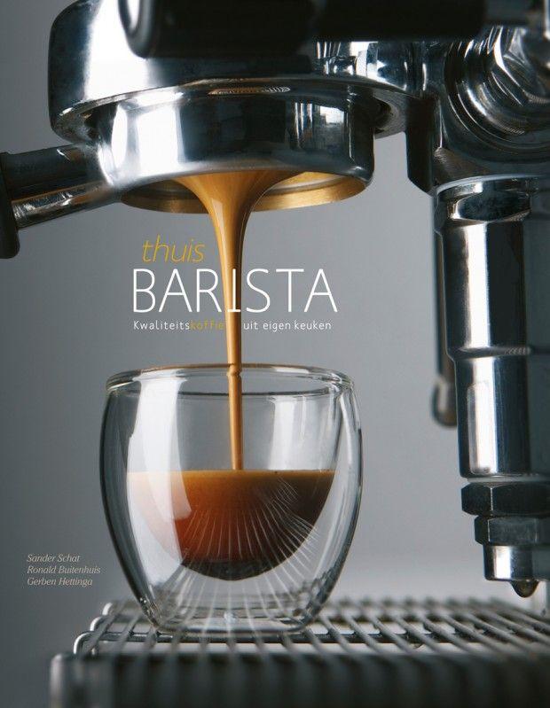 Thuisbarista koffie uit eigen keuken