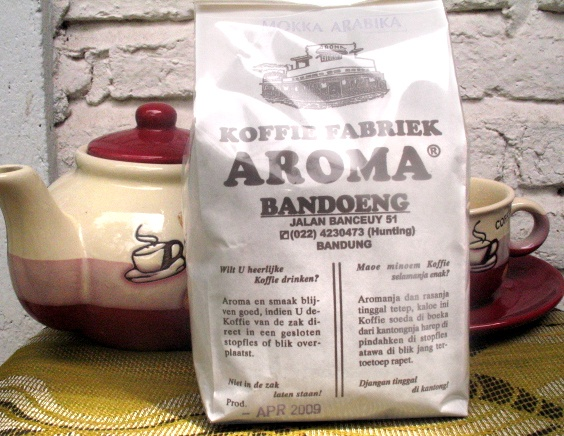 Coffee legen in bandung,west java Indonesia Kopi