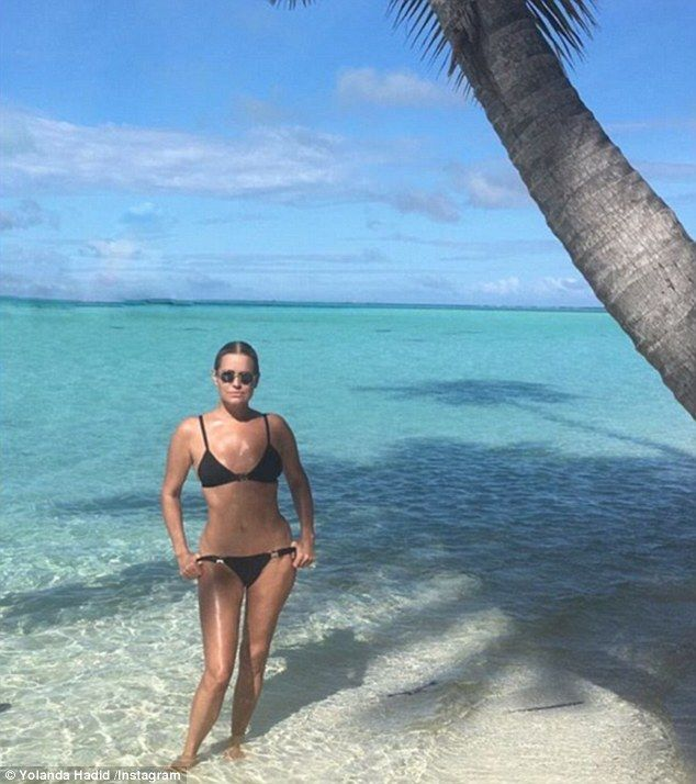 What a body! Yolanda Hadid gave her model daughters a run for their money, as she showed o...