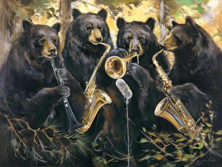 Jazz Bears « Mason Maloof Designs
