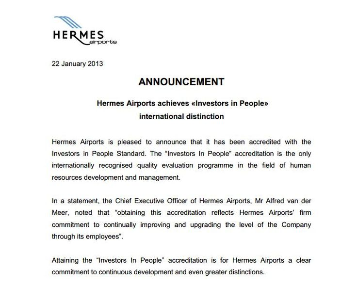 Hermes Airports in Cyprus accredited with IIP