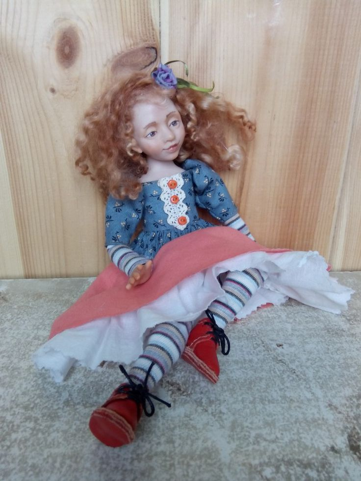 Будуарочка (26см).Куклы Елены Сусловой