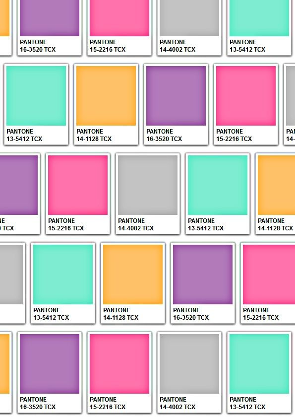 16 besten Pantones Bilder auf Pinterest   Farbpaletten, Färben und ...