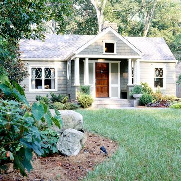 Cozy Front Porch: Exterior Makeover, Ideas, Home Exteriors, House, Exterior Renovation, Front Porches, Wood Doors