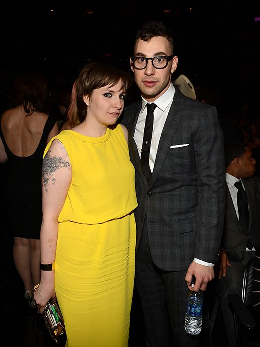 lena dunham and jack antonoff by http://www.wikilove.com