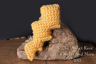 A Hermit's Wish: Crochet Lightning Bolt Pattern