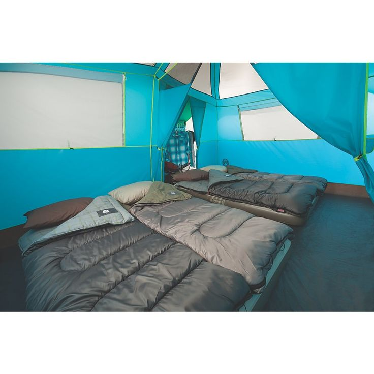 Coleman - 8 Person Tent | Coleman Tents | Coleman - Tenaya Lake™ 8P Fast Pitch™ Cabin with Cabinets