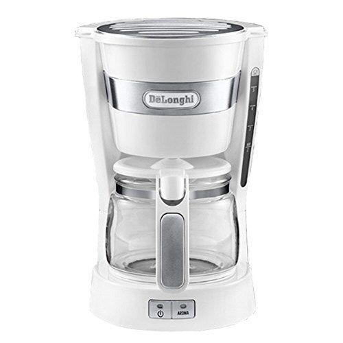 Delonghi Mini Drip Coffee Maker 5-Cup 0.65L ICM14011 (White)