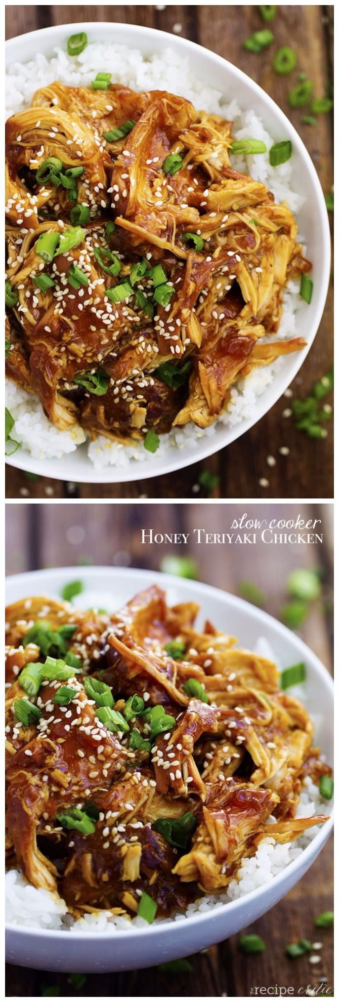 Slow Cooker Honey Teriyaki Chicken INGREDIENTS 4 boneless chicken breasts, about 2 pounds ½ cup soy sauce ½ cup honey ¼ cup rice wine vinegar ¼ cup onion, chopped 2 garlic cloves, minced ¼ teaspoon…
