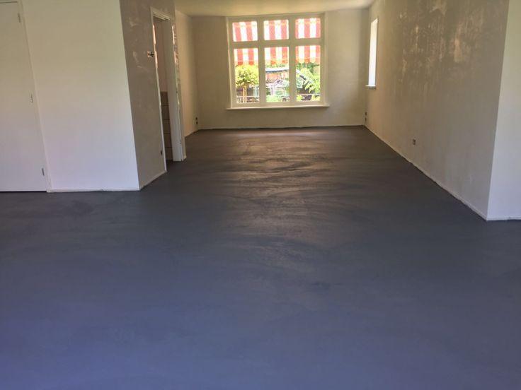 Beal Mortex vloer aangebracht door Vloer & Zo. Project in Castricum.