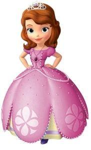 Figura de Princesa Sofía para armar