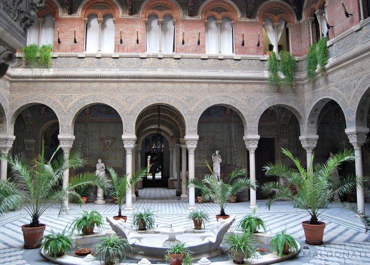 Patio del Palacio del Maqués de la Motilla