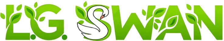 logo for my farm dba lg swan