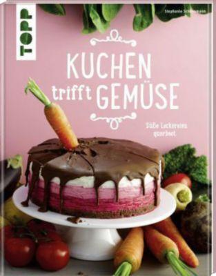 #Buch  #Kuchen #trifft #Gemüse Saftig, süß und sagenhaft! Das beschreibt das Geschmackserlebnis, wenn Kuchen auf Gemüse trifft. In vier Farbkapiteln hat die Autorin Stephanie Schönemann, die auch Mitbegründerin der Pop Up Bakery in Stuttgart ist, ihre besten Gemüsekuchen-Rezepte zusammengestellt. Dabei bestechen Rote-Bete-Torte, Zucchini-Kekse und Kürbis-Muffins nicht nur durch den fantastischen Geschmack, sondern auch durch ihre einzigartige Optik. Ein Backbuch für alle Sinne!