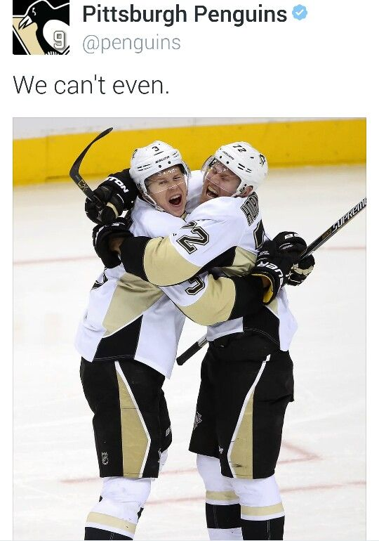 Olli Maatta and Patric Hornqvist making my night.