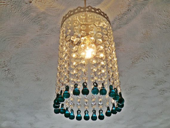 Limited Edition Chrome Chandelier Lampshade by SeearLights on Etsy