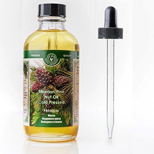 Premium Cold Pressed Siberian Pine Nut Oil 4 fl oz/120 ml Flora Aromatics http://www.amazon.com/dp/B00UY43LNA/ref=cm_sw_r_pi_dp_4cKBvb00MX2Q7
