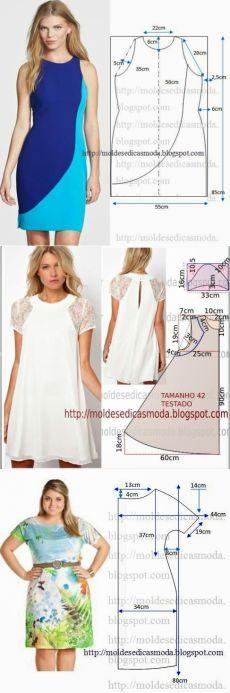 Мастера и умники: Простые выкройки летних платьев