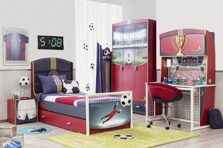 Football dětský pokoj, dětský nábytek / children's room