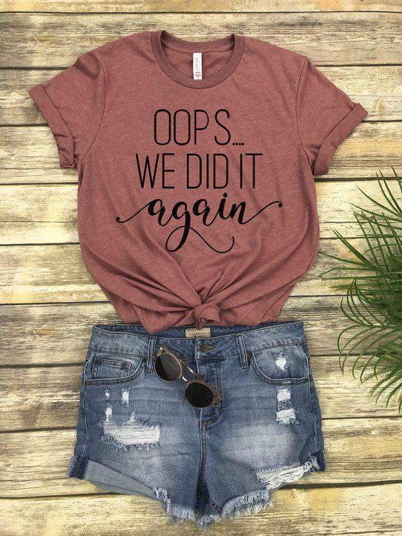 d375109e26a2f Love this maternity shirt! Oops we did it again! #babybump #maternityshirt #