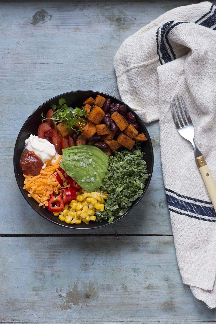 Chili sin carne bowl