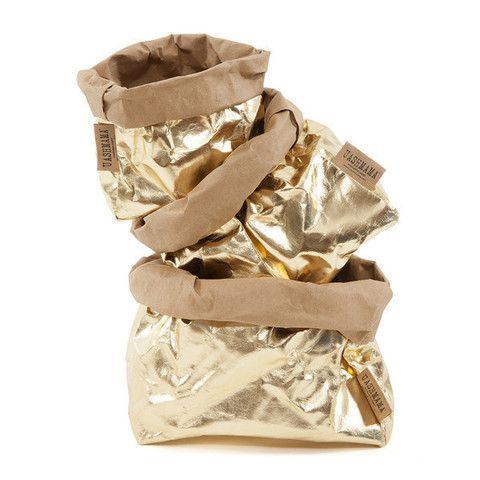 Metallic Bag Gold Brown – THAT LITTLE SHOP