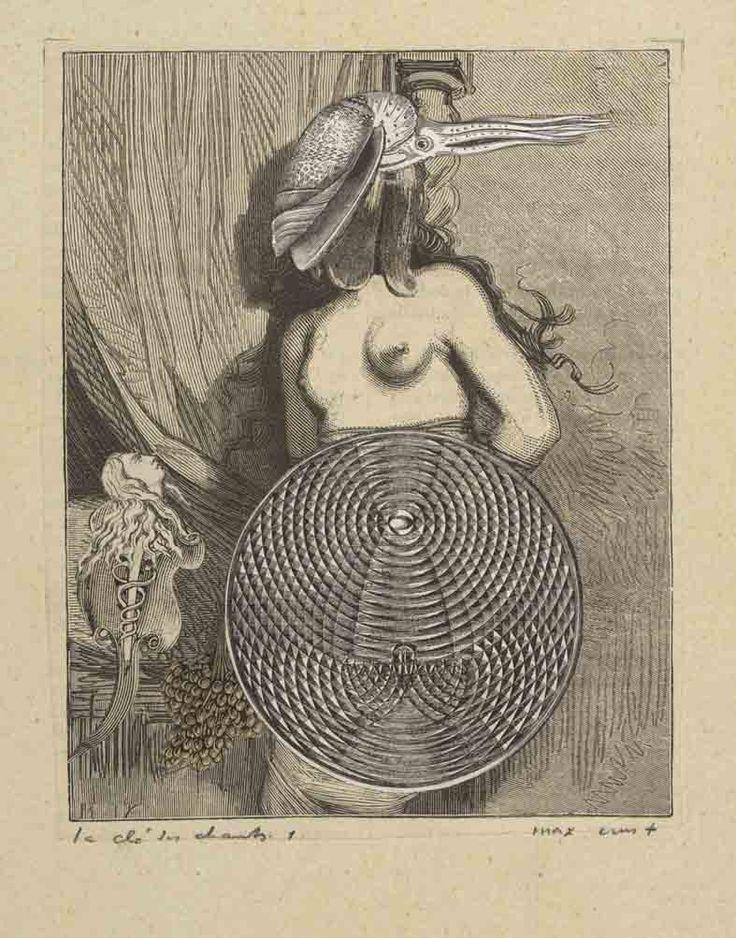 Max Ernst | Max Ernst, Collage for Une semaine de bonté (A week of kindness ...
