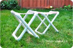 Simple Simon & Company: Summer Camp Chair Tutorial (That you can make yourself!)  For scouts...either AHG or Webelos