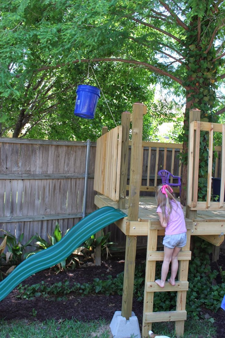 How to build an indoor tree house play loft and drill into the studs - Crafty Texas Girls Build A Tree House