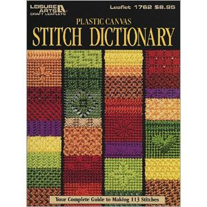 Plastic canvas stitch dictionary| Plastic canvas stitch guide, patterns & Instructions