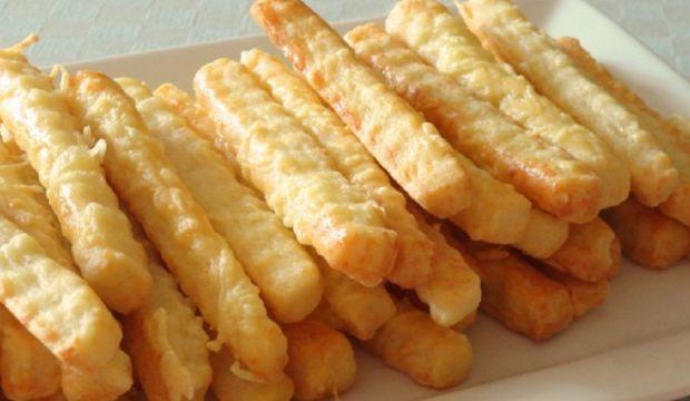 Slané sýrové tyčinky