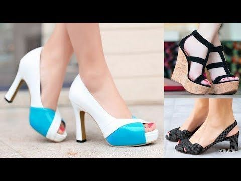954b8fe759e3 Heels For Women - Latest Stylish Sandals Designs 2019 - YouTube ...