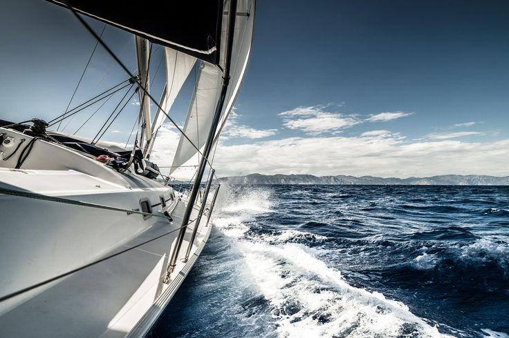Sailing - Sailing the Aegean sea in Greece