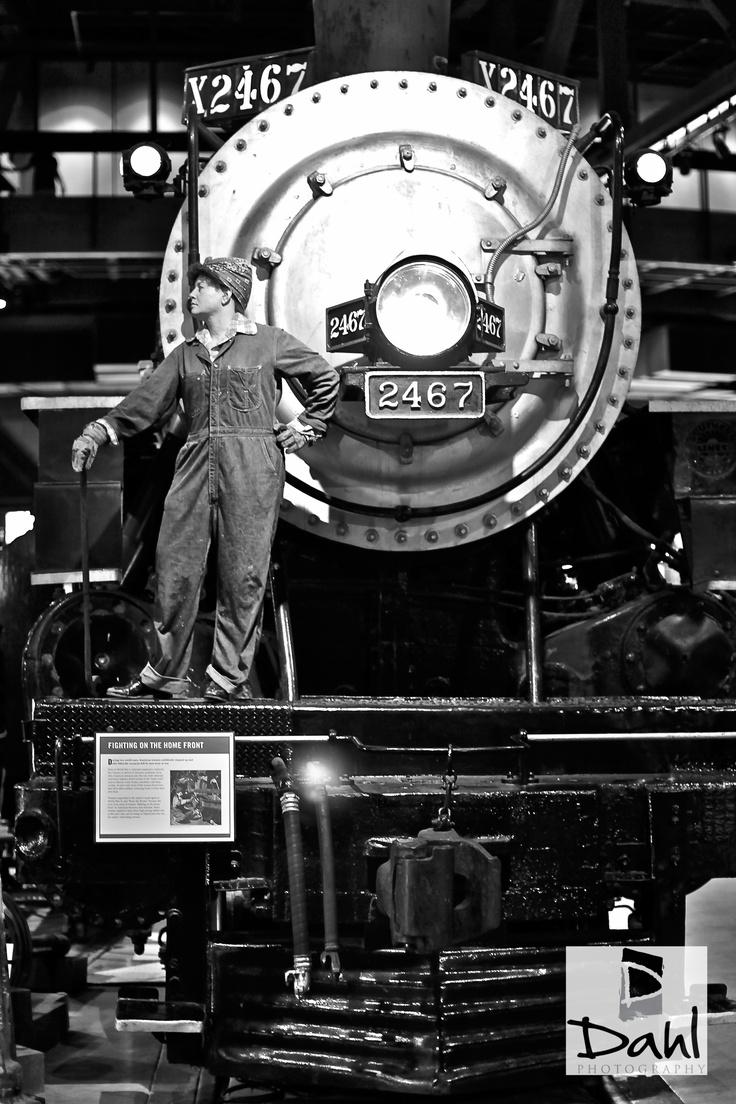 Train Engine 2467, Sacramento Train Museum