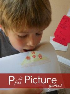 P is for Picture Game.  (Letter P sound drawing game.): Pictures Sound, Blast, Guess Games, Pictures Games, Letters Crafts, Pictures Letters, Drawings Games, Letters Numb, Letters Activities
