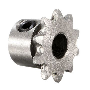Only US$3.39, buy best 8mm Bore 10 Teeth Metal Gear Motor Roller Chain Drive Sprocket sale online store at wholesale price.US/EU warehouse.