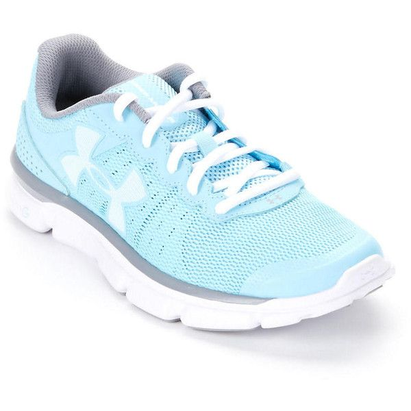 Under Armour Women's UA Micro G Speed Swift Running Shoes ($80) ❤ liked on Polyvore featuring shoes, athletic shoes, women, flexible shoes, under armour athletic shoes, athletic running shoes and running shoes