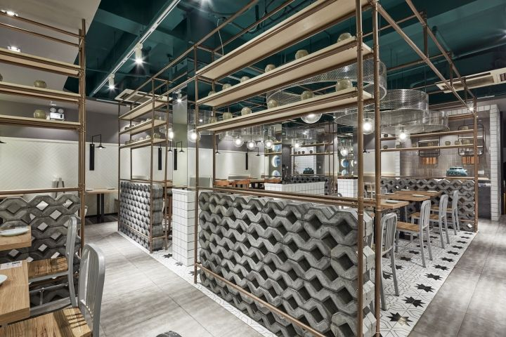 Douyue Restaurant by The Swimming Pool Studio, Shanghai – China » Retail Design Blog
