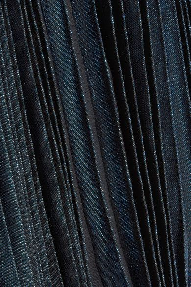 Multicolored silk-blend lamé Slips on Fabric1: 75% silk, 25% polyester; fabric2: 43% metallic fibers, 25% polyester, 22% rubber; fabric3: 74% acetate, 26% silk Dry clean Imported